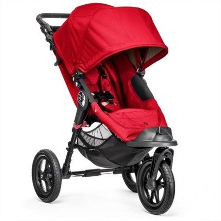 Wózek CITY ELITE SINGLE RED 13430 Baby Jogger+pałąk