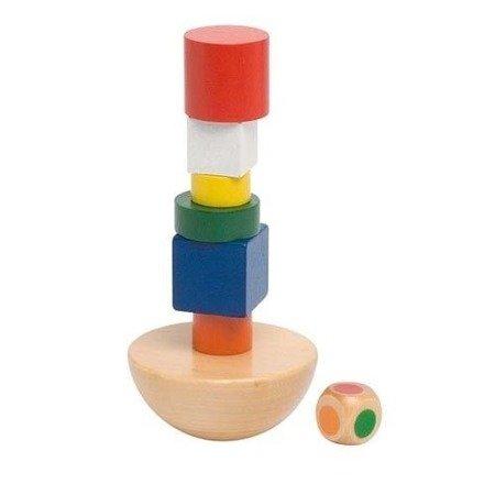 Balansująca wieża, zestaw klocków , Goki HS 129