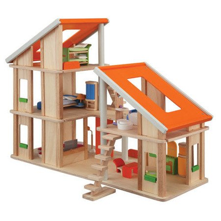 Domek dla lalek z mebelkami, Plan Toys PLTO-7141