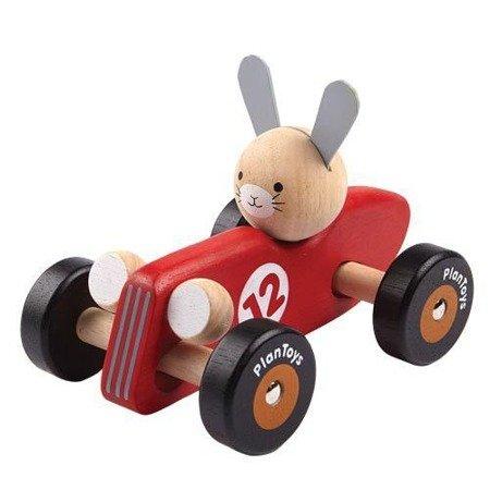 Drewniana rajdówka z królikiem, Plan Toys®