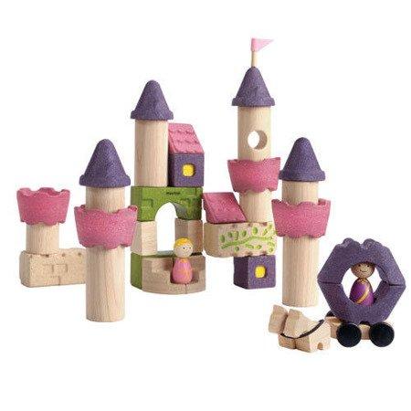 Drewniane klocki Zamek księżniczki, Plan Toys®