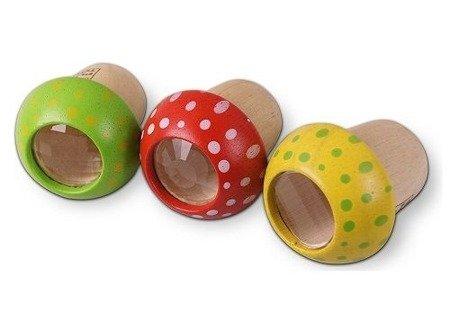 Drewniany kalejdoskop Grzybek, Plan Toys®