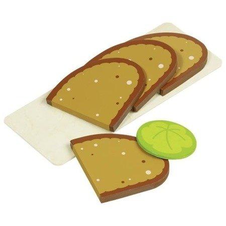 Drewniany zestaw: Plasterki chleba