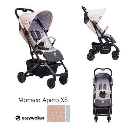 Easywalker Buggy XS Wózek spacerowy z osłonką przeciwdeszczową Monaco Apero