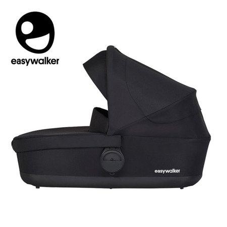 Easywalker Charley Gondola do wózka Night Black (zawiera osłonkę przeciwdeszczową)