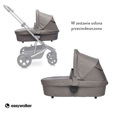 Easywalker Harvey Gondola do wózka Steel Grey