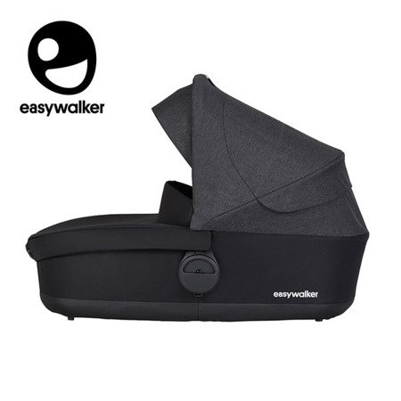 Easywalker Harvey2 Gondola do wózka Night Black (zawiera osłonkę przeciwdeszczową)