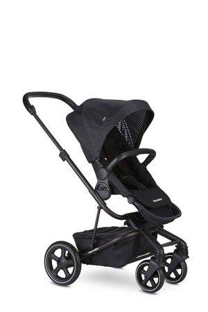 Easywalker Harvey² Premium Wózek głęboko-spacerowy Onyx Black  (zawiera stelaż, siedzisko z budką, pałąk, folię przeciwdesz. i adapter wysokości)