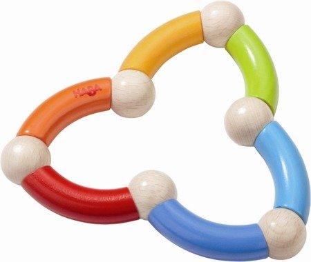 Grzechotka-gryzak Kolorowy Wąż