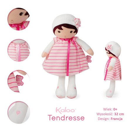 Kaloo Lalka Rose 32 cm w pudełku kolekcja Tendresse