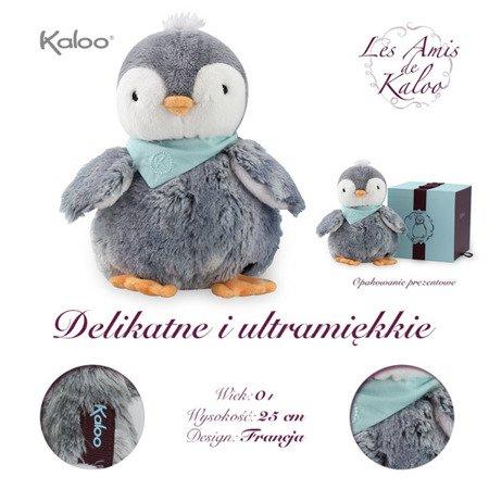 Kaloo Pingwin Szary w pudełku 25 cm kolekcja Les Amis