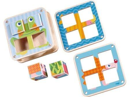 Klocki - Puzzle Ogrodowe Zwierzątka