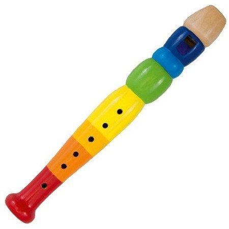 Kolorowy flet, zabawka muzyczna, Goki 61921
