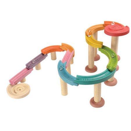 Kolorowy tor kulkowy Deluxe, Plan Toys®