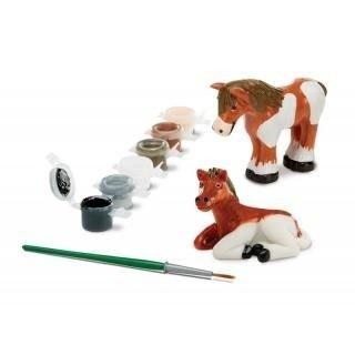 Konie - Figurki do malowania, 8+, Melissa&Doug