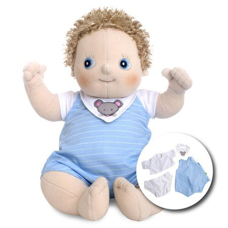 Lalka Rubens Baby, Erik + 4 ubranka (RB-120091)