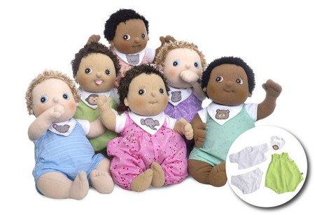 Lalka Rubens Baby, Max z 4 ubrankami, Rubens Barn, RB-120093