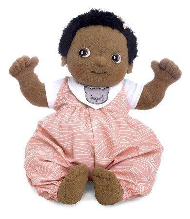 Lalka Rubens Baby, Nora z 4 ubrankami, Rubens Barn, RB-120096
