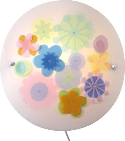Lampa - kinkiet Słoneczne Kwiaty