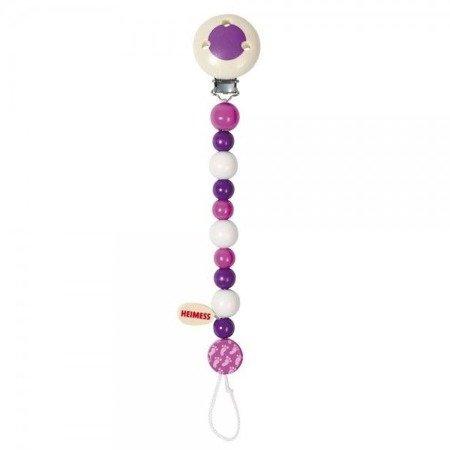 Łańcuszek do smoczka fioletowy , Goki 732360