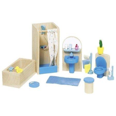 Łazienka - mebelki do domku dla lalek, GOKI-51749