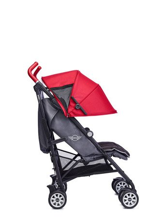 MINI by Easywalker Wózek spacerowy z osłonką przeciwdeszczową 6,5kg Union Red (special edition)