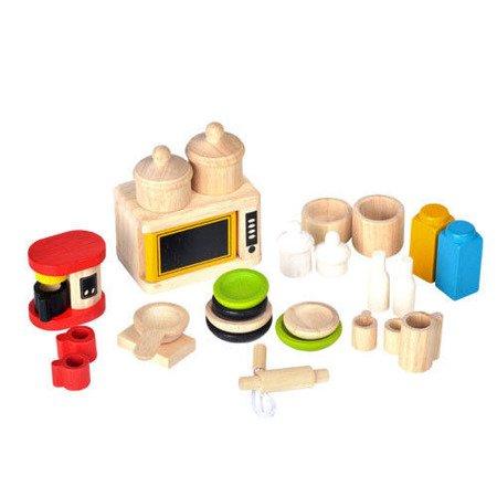 Mebelki dla lalek, Dodatki i naczynia do kuchni, Plan Toys®