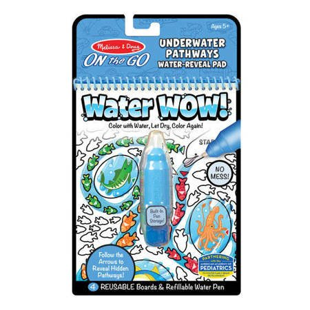 Melissa, Wodna Kolorowanka Water Wow! Pathways, Podwodny Świat