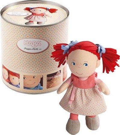 Miękka lalka Mirli, w puszce
