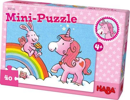 Mini Puzzle Jednorożec 40 el.