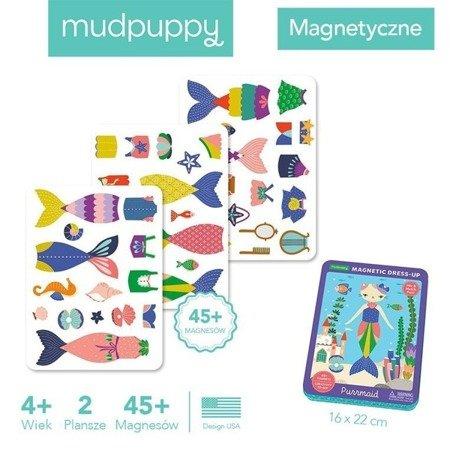 Mudpuppy Magnetyczne postacie Kotko-syrenka 4+