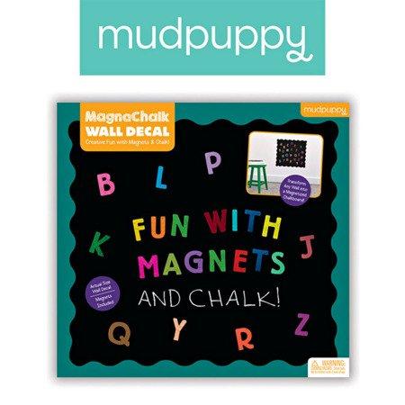 Mudpuppy Naklejka magnetyczna - tablica kredowa ABC