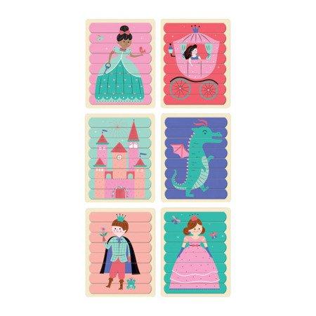 Mudpuppy Puzzle Patyczki Księżniczki 24 elementy 3+