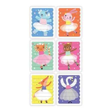 Mudpuppy Puzzle Patyczki Tańczące baletnice 24 elementy 3+