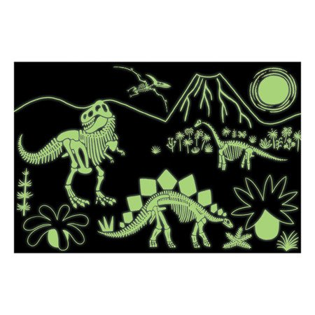 Mudpuppy Puzzle świecące w ciemności Dinozaury 100 elementów 5+