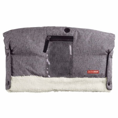 Mufka do wózka Heather Grey