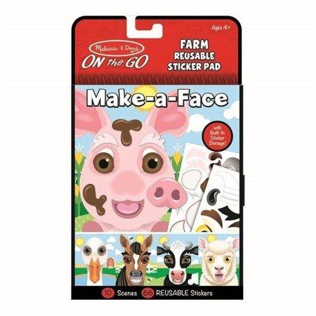 Naklejki Stwórz twarz: Farma