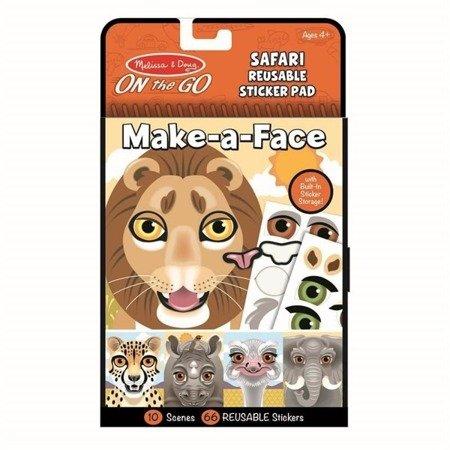 Naklejki Stwórz twarz: Safari