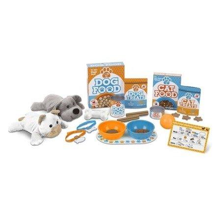 Opiekun zwierząt: Hodowla pieska i kotka