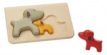 Pieski - Puzzle drewniane, Plan Toys