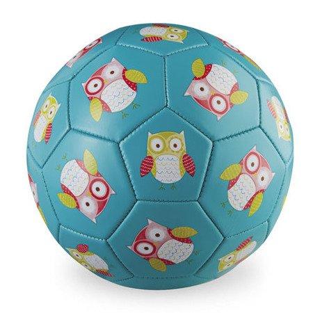 Piłka futbolowa, 5,5'' ,wzór Sowy,Crocodille Creek
