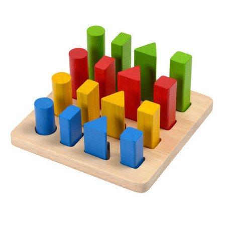 Plansza do sortowania, Plan Toys PLTO-5125