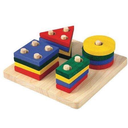 Plansza z figurami geometrycznymi Plan Toys®