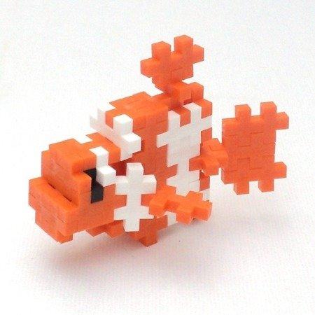 Plus-Plus, Mini MIX 600 szt (Basic, Neon) i 2 płytki konstrukcyjne