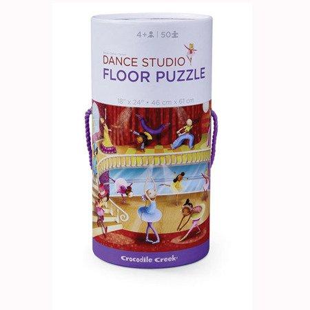 Puzzle 50el., motyw studio tańca, Crocodile Creek