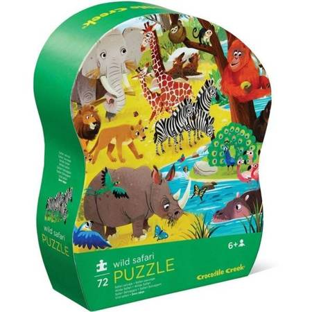 Puzzle 72 el. Dzikie Safari