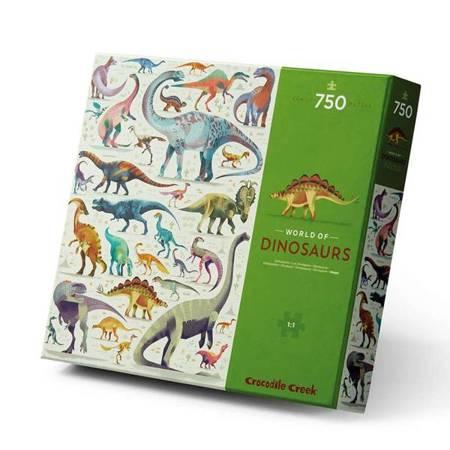 Puzzle 750 el. - Świat Dinozaurów