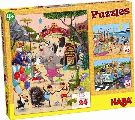Puzzle Zwariowane Zwierzątka