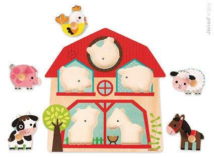 Puzzle muzyczne Mieszkańcy farmy, Janod