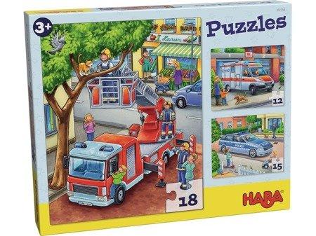 Puzzles Służby mudurowe w akcji (3 mot)